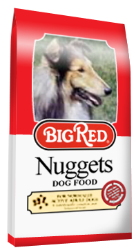 propet With big red dog food